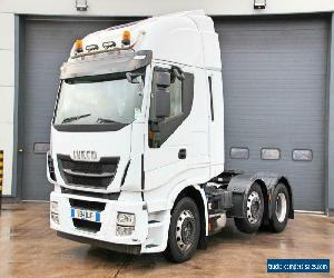 Iveco (2014) Stralis 460 (ULEZ) 6X2 T/Unit. Twin Sleeper Hi-Way Cab. Automatic  for Sale