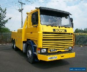 1991 SCANIA 113M 360 6X2 RECOVERY TRUCK for Sale