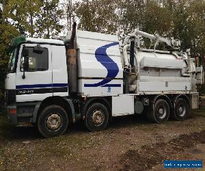 MERCEDES 3240 8X4 LQUID RING JET VAC 2002 for Sale