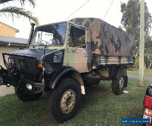 Unimog Mercedes-Benz,Rego,Log Book.Very Good Condition(Ex Army) for Sale