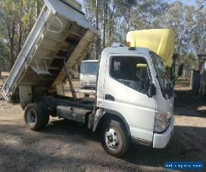 Mitsubishi Canter 09 Fuso Tipper Drop Side 2way Gate Aloy Back TowBar Ex Council for Sale