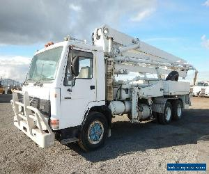 1991 Volvo FL10 Concrete Pump Truck comes with Schwing kvm31 for Sale