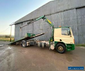 LEYLAND DAF FA 65.210 Tilt & Slide 23f+Crane+Spec Recovery Truck MOT !! Cheap!! for Sale