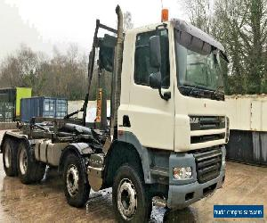 DAF CF85 360 Euro5 8x4 Hookloader / Roll On Roll Off for Sale