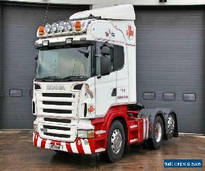 Scania (2009) R480 6X2 T/Unit. Twin Sleeper Highline Cab. 12 Speed Manual Crawl for Sale