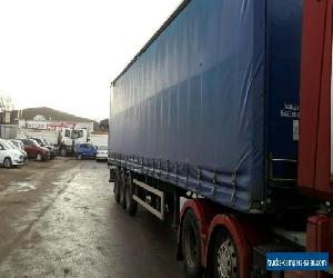 Tri axle curtainsider for Sale