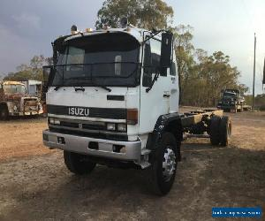 ISUZU FVR 1991 DIESEL 7 SPEED 16.5 TONNE SUIT TRAYBACK TRUCK HINO MITSUBISHI for Sale