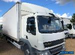Daf LF45 7.5t box lorry with column taillift with sleeper cab for Sale