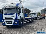 2011 (61) Iveco Stralis 310 6x2 rear lift 30ft flat bed  for Sale