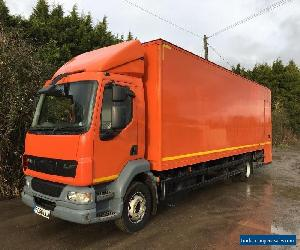 DAF LF55. GRP BOX BODY 29FT NO VAT EXPORT 6 SPEED MANUAL 13 TON !! SELF STORAGE  for Sale