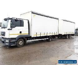 12.250 MAN TGL EX MOD DRAW BAR RIG, 2012, ONLY 55K MILES MANUAL GEARBOX, 24T GTW for Sale