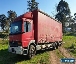 Mercedes Benz 2002 Atego taut liner curtain sider truck..  Tailgate loader for Sale