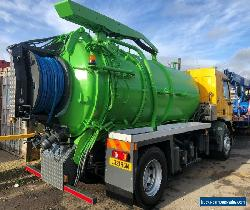 Jet vac Tanker - High volume moving partition for Sale