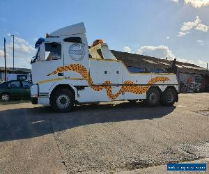 1993 VOLVO FH 420 6x2 RECOVERY VEHICLE WITH UNDERLIFT AND SLEEPER CAB for Sale