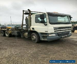 DAF 75 360 HOOK LIFT 2007 8 MONTHS MOT for Sale