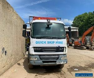 SKIP LORRY DAF LF55 220 ONLY 192000km for Sale