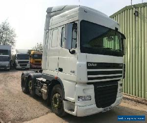 DAF XF 105.460 6x2 MID LIFT TRACTOR UNIT WITH PTO, HYDRAULICS for Sale