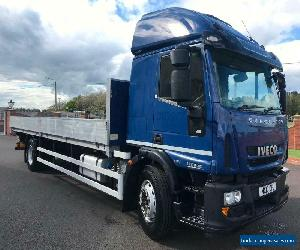 2013 IVECO EUROCARGO 180E25 18 ton DROP SIDE TRUCK IDEAL SCAFFOLDING  for Sale
