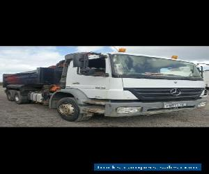 mercedes grab lorry tipper  2629 for Sale