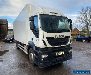 Iveco Stralis 310 BOX LORRY WITH REAR SLIDING DOOR for Sale