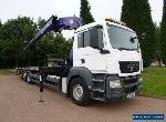 2011 (11) MAN TGS 26.360 6x2 Flat, PM 50 Ton Remote Controlled Crane for Sale