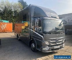 Andrew Maudsley Horsebox Mercedes 7.5 ton 3 stall for Sale