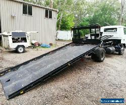 Mitsubishi Canter Turbo Diesel Tilt Tray with 1.5m gates Reg NSW 3/22 Drives Gr8 for Sale