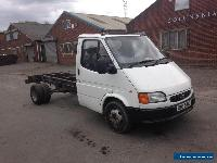 FORD TRANSIT CHASSIS CAB ~ SMILEY ~ 2.5 LITRE BANANA ENGINE for Sale