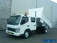 2006 MITSUBISHI CANTER FUSO FE85 DUAL CAB TIPPER for Sale